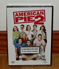 AMERICAN PIE 2 - DVD - PRECINTADO - NUEVO - COMEDIA - LO QUE NUNCA HAS VISTO