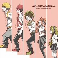 CD ORIGINAL SOUNDTRACK 2018 MY HERO ACADEMIA/Hayashi yuki JAPAN