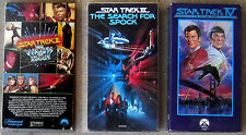 LOT 3 Star Trek TOS Films II III IV Wrath of Khan Search for Spock Journey Home