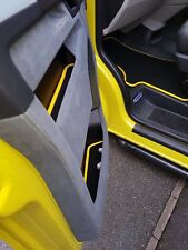 VW T5 T5.1 Transporter Custom Door Card Mats SET OF 4 Upgrades Factory Bench