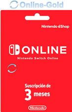 Suscripción de Nintendo Switch Online Key - 3 meses - 90 días eShop solo UE [ES]