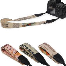 Fashion High Quality Camera Strap Shoulder Neck Belt F SLR DSLR ILDC Canon Nikon