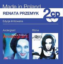 Renata Przemyk - Andergrant / Blizna (CD 2 disc) NEW