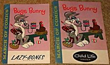 MARCH OF COMICS 201 RARE GIVEAWAY PROMO PROMOTIONAL MINI BUGS BUNNY 1960 VF/VF-