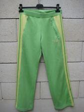 Pantaloni ADIDAS tuta sport retrò vintage verde mela 34