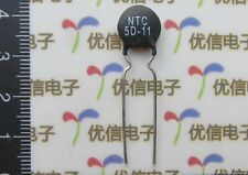 1000pcs Rated Resistor at 25°C 5 Ohm NTC 5D-11 Thermistor Resistor