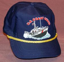 NEW US Coast Guard Cap Navy Blue Hat Military Ship Boat USCG