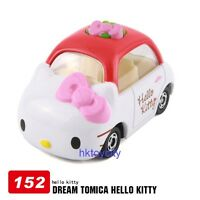 JAPAN TAKARA TOMY DREAM TOMICA 152 SANRIO HELLO KITTY DIECAST CAR MODEL 466383