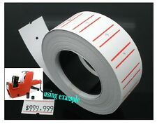 5 Rolls 500 Labels Price Tag sticker Compatible to MX-5500 Label Gun Price Label