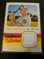 2020 Topps Heritage Clubhouse Collection Relic #CCR-TM Trey Mancini