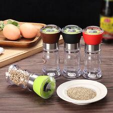 Manual Stainless Steel Pepper Mill Salt Grinder Muller Kitchen Tool
