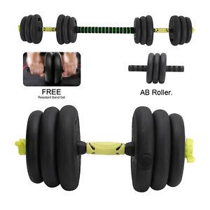 20Kg 3 in 1 Dumbbells Free Weight Dumbbell Set Adjustable dumbbell/barbel
