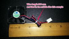 40x40x20mm 5V 40mm  DC Brushless CPU Fan  with TACHO FD function 3-wire conn