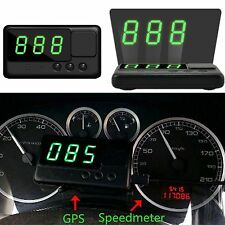 Auto GPS HUD Head up Display Tacho Anzeige Speedometer Speed Alarm Tachometer HU
