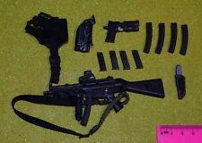 DRAGON IN DREAMS DID 1/6 MODERN MP5 & COLT 45 FROM DENVER LAPD SWAT
