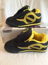 Odessa Octopus Navy Blue & Yellow Suede Womens Girls Skate Shoes UK Size 5 BNIB