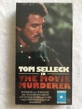 The Movie Murderer (NEW SEALED VHS) Tom Selleck's movie debut VERY RARE OOP!
