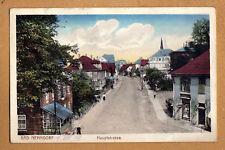 Bad Nenndorf schöne Straßen Ansicht 1913