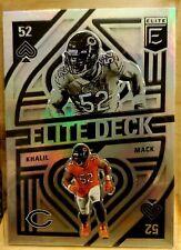 2021 Donruss Elite Khalil Mack Elite Deck #Ed8 Bears