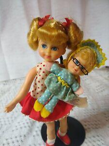 Vintage  Buffy & Mrs. Beasley Barbie Tutti Doll Mattel 1967 Family Affair 1965