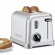 Cuisinart Classic Two-Piece Toaster in Stainless Steel, Cpt160