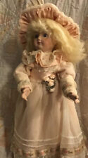 16 In. All Porcelain Doll By Barb Corning