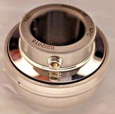 """Premium SUC205-15   Stainless Steel Insert Bearing UC205-15  15/16"""" Bore Re-lube"""