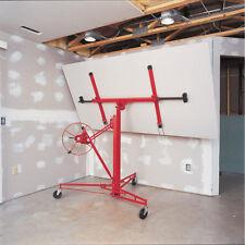 Lockable 11Ft Drywall Hoist Plaster Board Panel Sheet Heavy Duty Drywall Lift UK