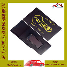 NEW 2 LARGE MAGNETIC KEY HOLDER HOME OFFICE SAFE BOX CAR BOAT SPARE KEYS HIDING