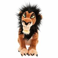 "Disney Authentic The Lion King - Scar Plush Toy Doll Figure 14"" NWT"