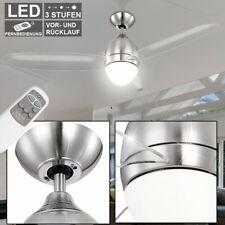 DEL Ventilateur plafond lampe éclairage Télécommande 3-Niveaux Ventilateur Refroidisseur Diele