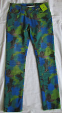 New ETRO Milano Runway Multicoloured Skinny Jeans/pants size IT 28,US 6-8/S-M