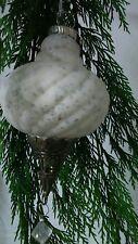 Brocante Shabby Cic Christbaumkugel Zapfen Weihnachten Bauernsilber  Rosette