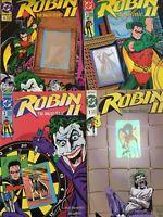 ROBIN. THE JOKER'S WILD. 1-4 (4 ISSUE HIGH GRADE SET/LOT VARIANT COVERS).