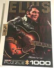 New 1000pc Jigsaw Puzzle Elvis Presley -Come Back 1968 Eurographics Puzzle