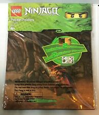 Lego Ninjago Pocket Folders 2 Pack with Stickers New Sealed