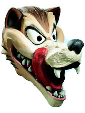 Adult Cartoon Hungry Wolf Red Riding Hood Costume Accessory Latex Overhead Mask