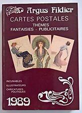 Argus Fildier Cartes postales 1989 Thèmes Fantaisies - Publicitaires. 1989. Incu