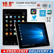 "10.8"" CHUWI Hi10 Plus Windows10 Android 5.1 Z8350 4+64GB HDMI OTG WiFi Tablet PC"