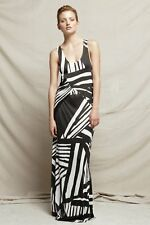 Sass and Bide - Ladies Maxi Dress Black and White Dress (A little Game) Size 36