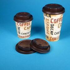 """1000 Coffee to go Becher Kaffeebecher """"Barista"""" 12oz 300ml 0,3l Ø80mm mit Deckel"""