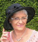 da donna Cappello elegante per party Seeberger DELL'ORGANZA MATRIMONIO lutto
