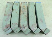 5 HM rechter Drehmeißel 32x32x170 S20 P15-P25 gebogen Drehstahl Hartmetall 3232