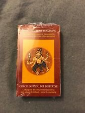 Hindu Oracle of Awakening Tarot Deck Out of Print Sealed Cards Lo Scarabeo