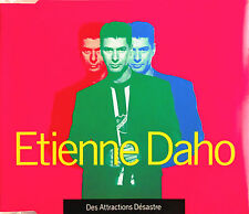 "ETIENNE DAHO - MAXI CD ""DES ATTRACTIONS DÉSASTRES"""