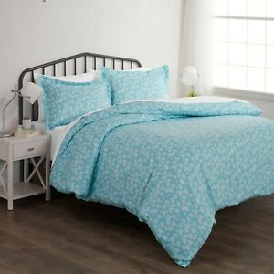 Hotel Quality 3 Piece Wheatfield Patterned Duvet Cover Set -The Home Collection