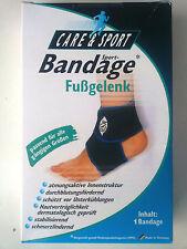 Care&Sport Sport-Bandagen Fußgelenk für rechts und links neu OVP