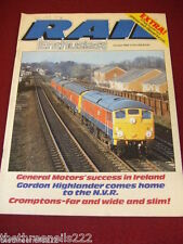 RAIL ENTHUSIAST #37 - GENERAL MOTORS IN IRELAND - OCT 1984