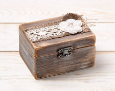Wedding Ring Bearer Box, Ring Pillow