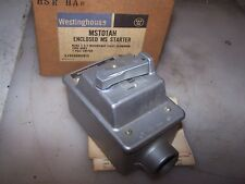 New Westinghouse Enclosed Manual Motor Starter 1 Pole Switch Mst01ah